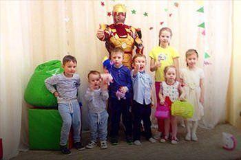 День рождения ребенка в детском саду